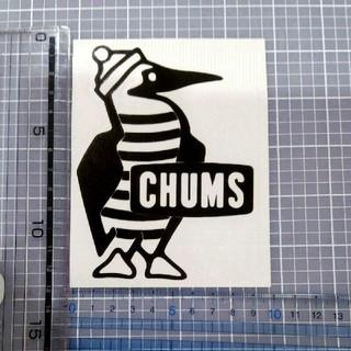 チャムス(CHUMS)のチャムス ステッカー 黒 1枚(ステッカー)