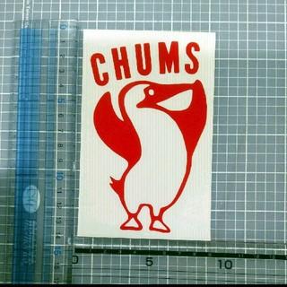 CHUMS - チャムス ステッカー 赤 1枚