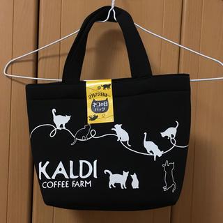 カルディ(KALDI)のKALDI 猫の日バッグ 2019 バッグのみ カルディ(トートバッグ)