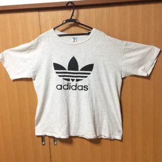 アディダス(adidas)のアメリカ製 90s トレフォイル adidas(Tシャツ/カットソー(半袖/袖なし))