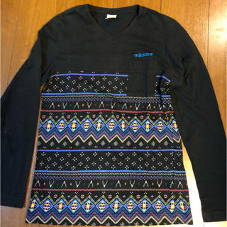 アディダス(adidas)のadidas ティシャツ メンズS(Tシャツ/カットソー(七分/長袖))