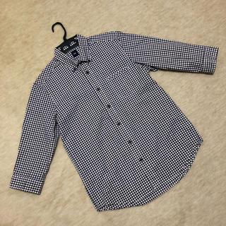 ギャップ(GAP)の【GAPメンズ】ギンガムチェック七分袖シャツ(シャツ)
