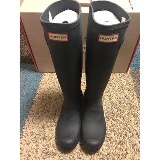 ハンター(HUNTER)のHUNTER ハンターレインブーツ US7(レインブーツ/長靴)
