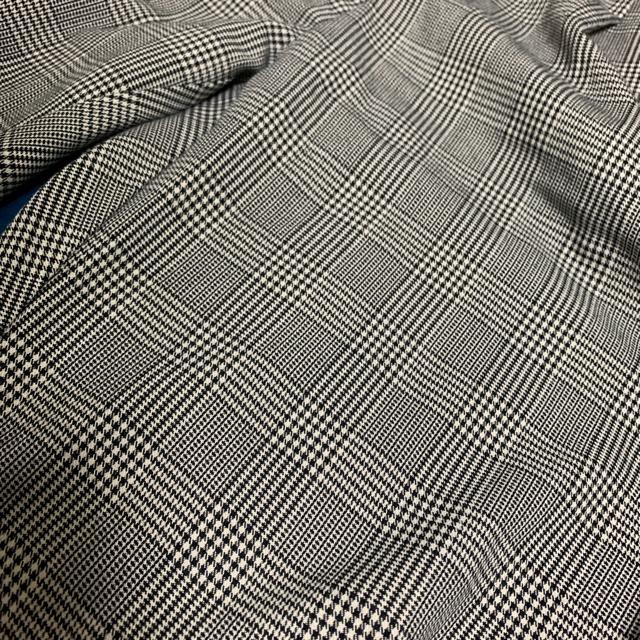 GU(ジーユー)のグレンチェック スラックス グレー メンズのパンツ(スラックス)の商品写真