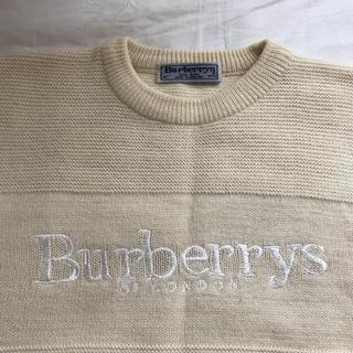 バーバリー(BURBERRY)のバーバリー ロゴ 90's ニット(ニット/セーター)