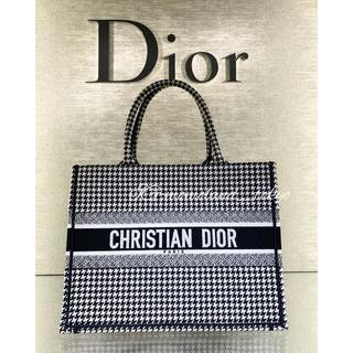 ディオール(Dior)の新作★Dior Book Tote スモール ブックトート ブラック/ホワイト(トートバッグ)