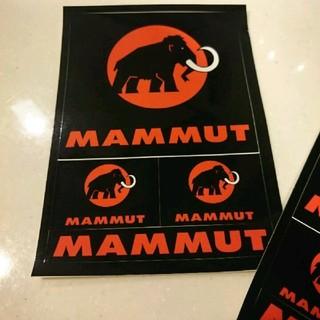 マムート(Mammut)の新品 1枚599円10枚4999円!  マムート  ポストカード ステッカー(登山用品)