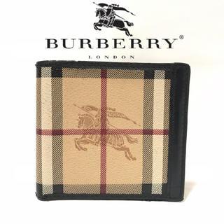 バーバリー(BURBERRY)のBURBERRY バーバリー 二つ折り財布 クラシックタータンチェック(折り財布)