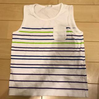 ジーユー(GU)の男の子 タンクトップ サイズ130(Tシャツ/カットソー)
