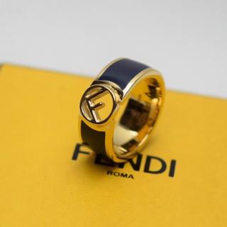フェンディ(FENDI)の送料無料/FENDI/リング・指輪/エフ・イズ・フェンディ/マルチカラー/S(リング(指輪))