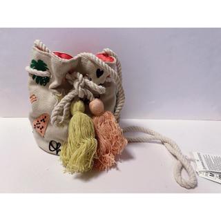 ザラキッズ(ZARA KIDS)のモチーフ刺繍バッグ 刺繍ミニバッグ ミニバッグ(ショルダーバッグ)