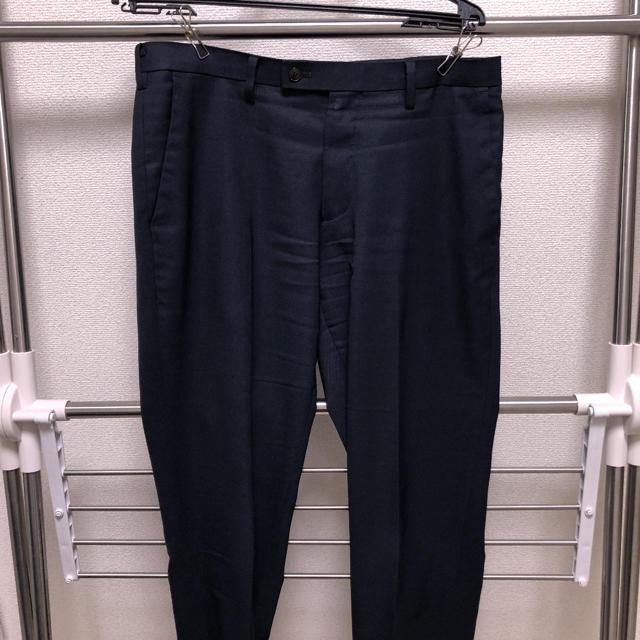 UNIQLO(ユニクロ)のユニクロ 感動パンツ ネイビー としさん専用 メンズのパンツ(スラックス)の商品写真