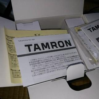 タムロン(TAMRON)のtamron sp 85mm f1.8 Di VC USD キャノン Canon(レンズ(単焦点))