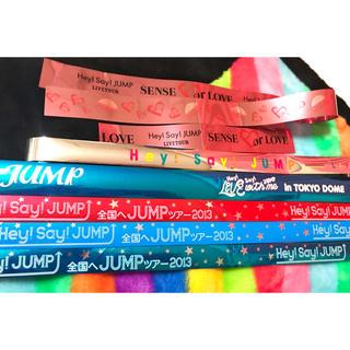 ヘイセイジャンプ(Hey! Say! JUMP)のJUMP 銀テ 7本セット(アイドルグッズ)