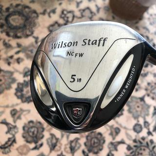 wilson - 5番ウッド  シャフトSR