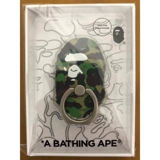 アベイシングエイプ(A BATHING APE)のA BATHING APE RING FOR SMARTPHONE GREEN(その他)