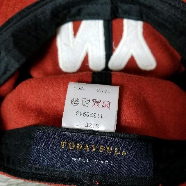TODAYFUL(トゥデイフル)のTodayful NY cap キャップ   レディースの帽子(キャップ)の商品写真