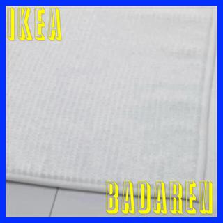 イケア(IKEA)のIKEA  BADAREN  バスマット ホワイト (バスマット)