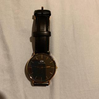 ダニエルウェリントン(Daniel Wellington)のdanielwellington 時計 黒(腕時計(アナログ))