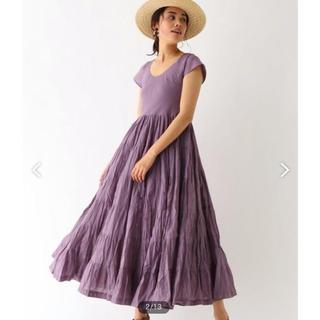 ドゥーズィエムクラス(DEUXIEME CLASSE)のMARIHA マリハ 2019ss  草原の虹のドレス   (ロングワンピース/マキシワンピース)