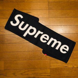 Supreme - 新品 未使用 レア 希少 Superme シュプリーム マフラー ボックスロゴ
