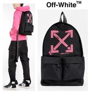 オフホワイト(OFF-WHITE)のOFF-WHITE19ss ARROWS BACKPACK BLACKFUXIA(バッグパック/リュック)