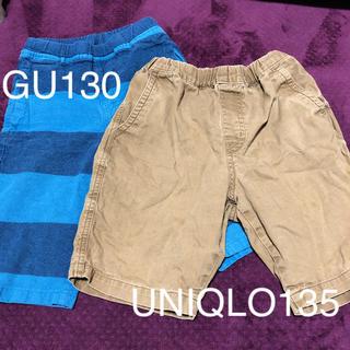ジーユー(GU)のハーフパンツ 130 GU UNIQLO(パンツ/スパッツ)