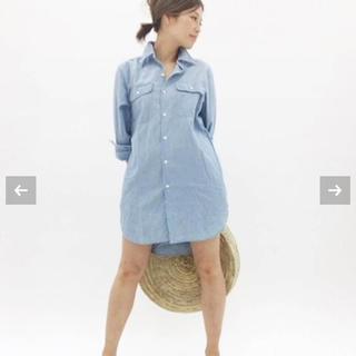 マディソンブルー(MADISONBLUE)のMADISONBLUE ロングシャツ(シャツ/ブラウス(長袖/七分))