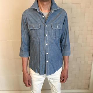 ユニクロ(UNIQLO)の☆ユニクロ ダンガリーシャツ H&M 無印良品 ZARA GU オールドネイビー(シャツ)