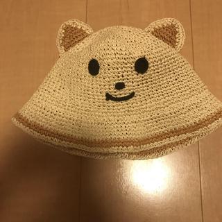 マザウェイズ(motherways)のマザウェイズ 48cm 麦わら帽子 (帽子)