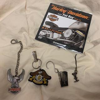 ハーレーダビッドソン(Harley Davidson)のハーレーダビッドソン・キーリングチェーン・クリップDVD(キーホルダー)