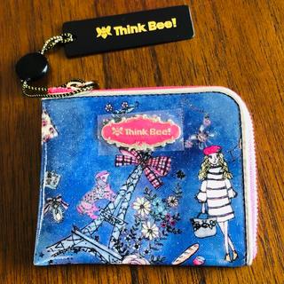 シンクビー(Think Bee!)の新品未使用 シンクビー  ジョルジュサンク L型財布 ブルー(財布)