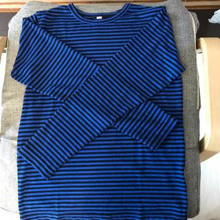 ジーユー(GU)のGU長袖ボーダーTシャツ二枚セット(Tシャツ/カットソー)
