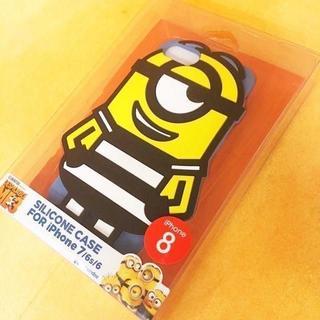 ミニオン(ミニオン)の特価 ミニオンズ iPhone8/7/6s/6 シリコンケース MINI33(iPhoneケース)