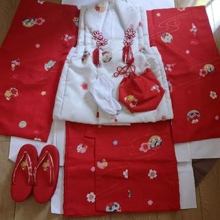 七五三 3歳女の子 着物