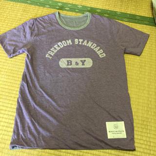ビューティアンドユースユナイテッドアローズ(BEAUTY&YOUTH UNITED ARROWS)の最終値下げ☆ユナイテッドアローズ Tシャツ(Tシャツ/カットソー(半袖/袖なし))