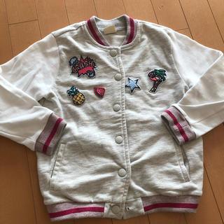 ザラキッズ(ZARA KIDS)のジャケット ZARA GIRLS スエットジャケット サイズ120(ジャケット/上着)