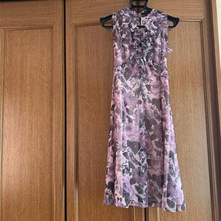 af0072710c108 フラジール(FRAGILE)の美品☆フラジール フリルワンピース ドレス 38サイズ(ひざ