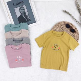 キャラメルベビー&チャイルド(Caramel baby&child )の♡新品♡ 子供服 スマイルTシャツ 80-120(Tシャツ)