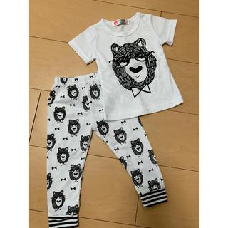 ザラキッズ(ZARA KIDS)のくまさんパジャマ70センチ 半袖(パジャマ)