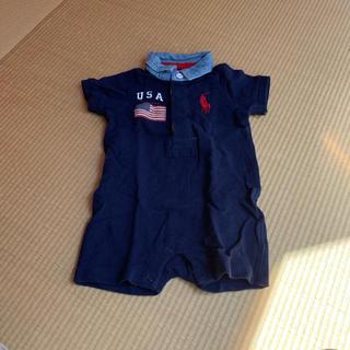 64dd7eeeaecfa ラルフローレン(Ralph Lauren)のラルフローレン ベビー洋服、靴下付(ロンパース