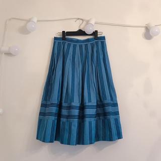 ジェーンマープル(JaneMarple)のjanemarple レジメンタルスカート(ひざ丈スカート)