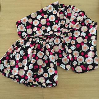 8f0895d3c0a7e サンリオ(サンリオ)のハローキティ ドレス浴衣 甚平 110(甚平 浴衣)