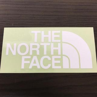 ザノースフェイス(THE NORTH FACE)の【縦7cm横14cm】THE NORTH FACE カッティングステッカー二枚(ステッカー)