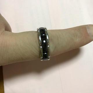 シャネル(CHANEL)のCHANELウルトラリング T62 ブラックセラミック&18KWG(リング(指輪))