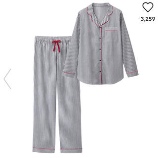 ジーユー(GU)のパジャマ GU ストライプ(パジャマ)
