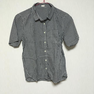 ジーユー(GU)のチェックシャツ 半袖シャツ GU ジーユー(シャツ/ブラウス(半袖/袖なし))