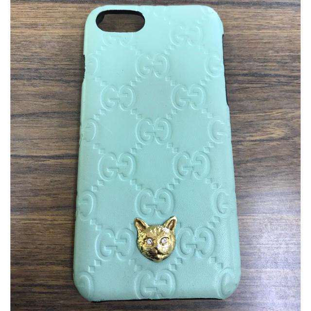 Gucci - GUCCI iPhoneケース キャット 日本限定カラーの通販
