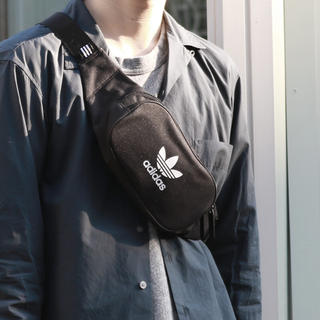 adidas - 黒   ボディバッグ  ウエストバッグ