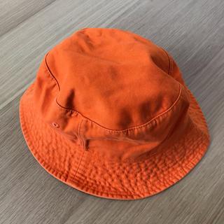 ユニクロ(UNIQLO)のユニクロ 帽子 オレンジ(ハット)